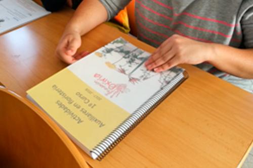 taller de actividades ambientales en la fundación