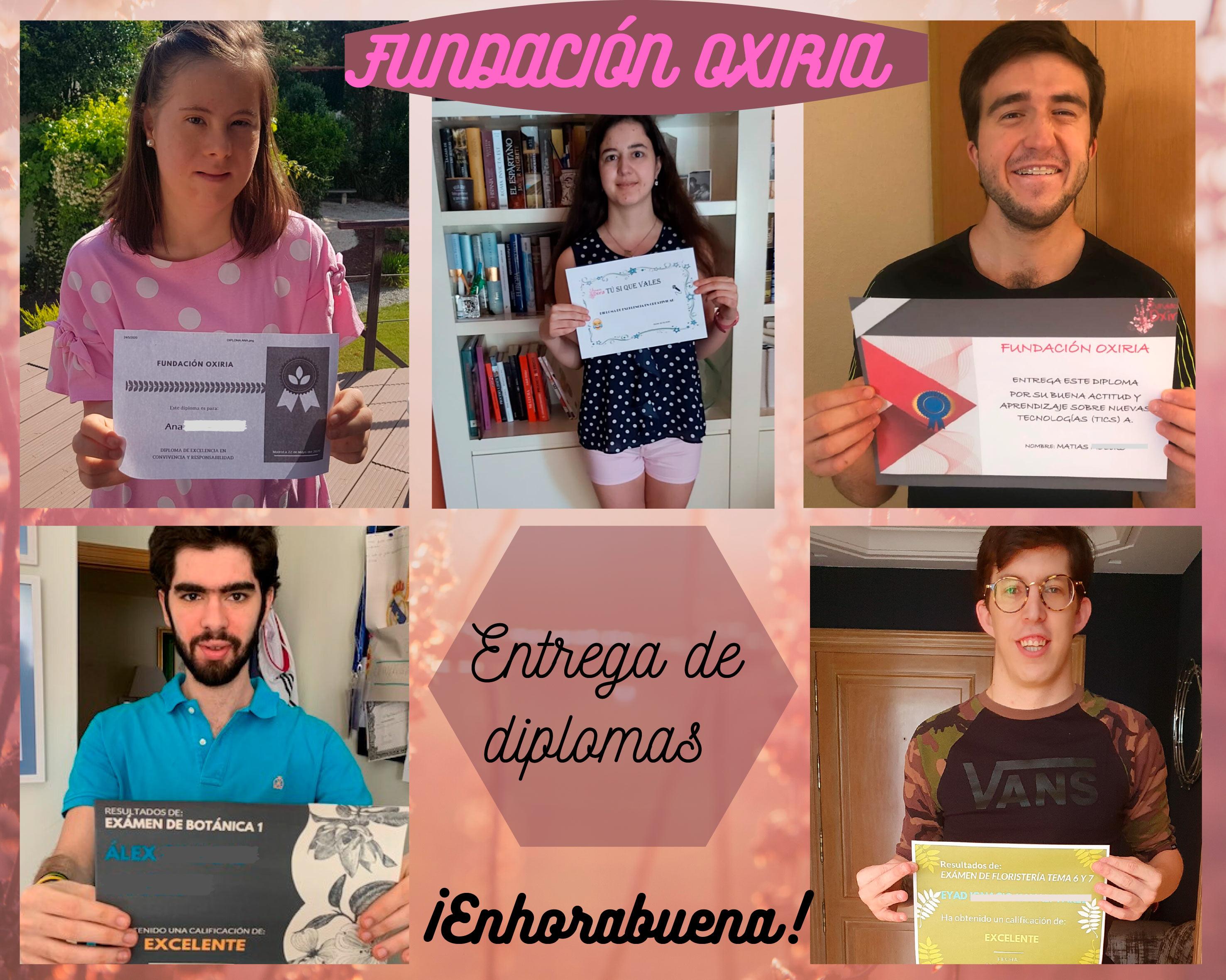 Diplomas Fundación Oxiria